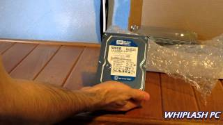 Unboxing : Western Digital Caviar Blue 500gb sata hard drive
