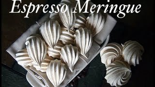 Video How to make Meringues - 101 Sweet Pastry Espresso Meringue Recipe download MP3, 3GP, MP4, WEBM, AVI, FLV November 2018