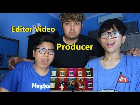 ITZY 'DALLA DALLA' MV REACTION BARENG TEMEN YANG EDITOR DAN PRODUSER!