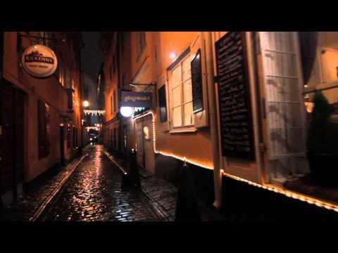 Stockholm Oldtown Night Time, Sweden