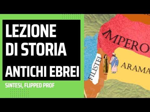 Lezione Di Storia Sugli Antichi Ebrei