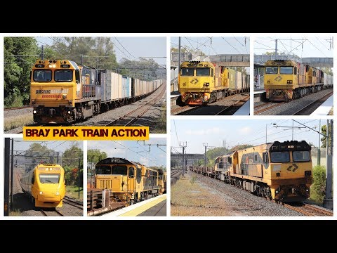 Saturday Morning Express Trains - Bray Park, Queensland