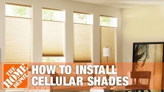 How to Install Inside Mount Blinds: Cellular Shades