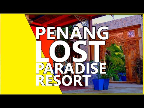 Lost Paradise Resort, Penang, Malaysia, Point Of View VLOG [4K]