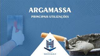 Argamassa - Principais aplicações (Alvenaria, Reboco e Assentamento de revestimentos) - MC2-5