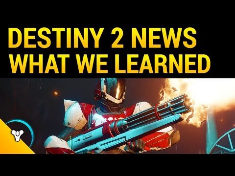 Destiny 2 First Impressions: New Subclasses, Crucible Changes, HD Screenshots