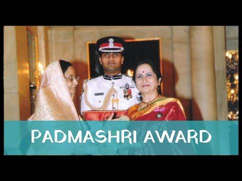 Aruna Sairam Receives Padmashri Award, New Delhi - 2009