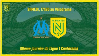 VIDEO: OM - FC Nantes : l'avant-match en bref
