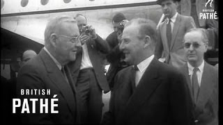 Selwyn Lloyd Arriving In America (1958)