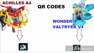 Код Волтраек в4 и Ахиллес а4