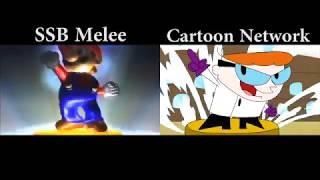 SSB Melee & Cartoon Network Intro Comparison