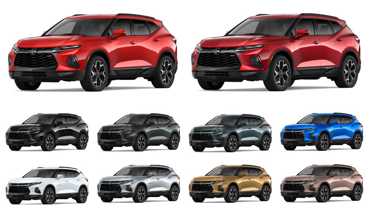 2019 Chevrolet Blazer | COLORS