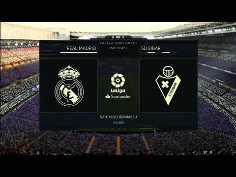 FIFA 18 | La Liga Santander | Real Madrid v SD Eibar | Santiago Bernabéu