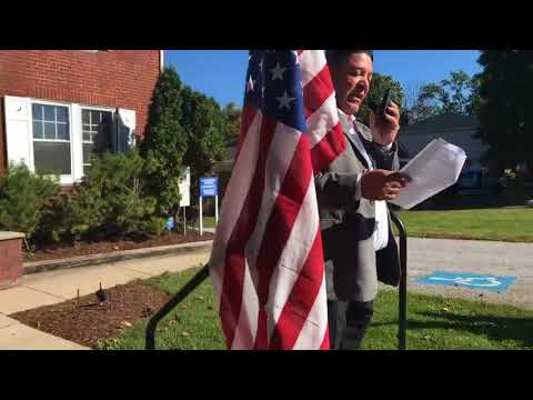 York residents protest Pa. Congressman Scott Perry's office over Puerto Rico comments