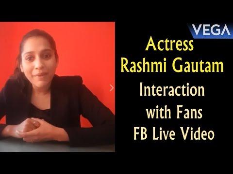 Actress Rashmi Gautam Interaction with Fans || Vega Entertainment