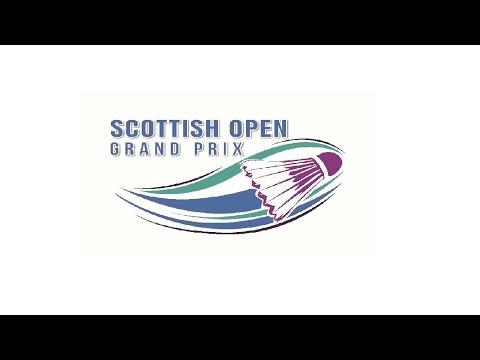 Semi Finals - Scottish Open Badminton Championships 2016 (Court 2)