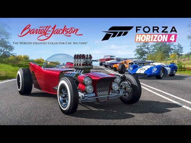 Forza Horizon 4 Series 8 Update Brings Changes for Online