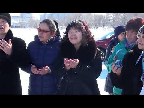 Кокпар (Текели) 19.02.2018 Иманбердиева Эльмира 50 жас туған күн құрметіне арналған КӨКПАР!