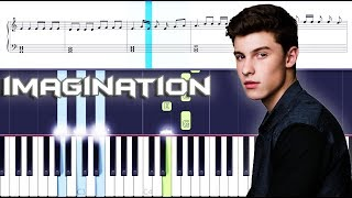 Shawn Mendes - Imagination Piano With Sheets EASY (Piano Cover)