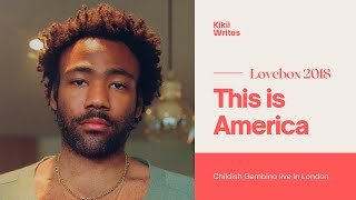 Childish Gambino - This is America (part one Live at Lovebox Festival London)