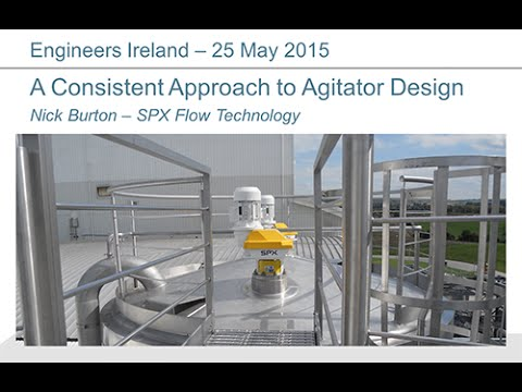 A Consistent Approach to Agitator Design