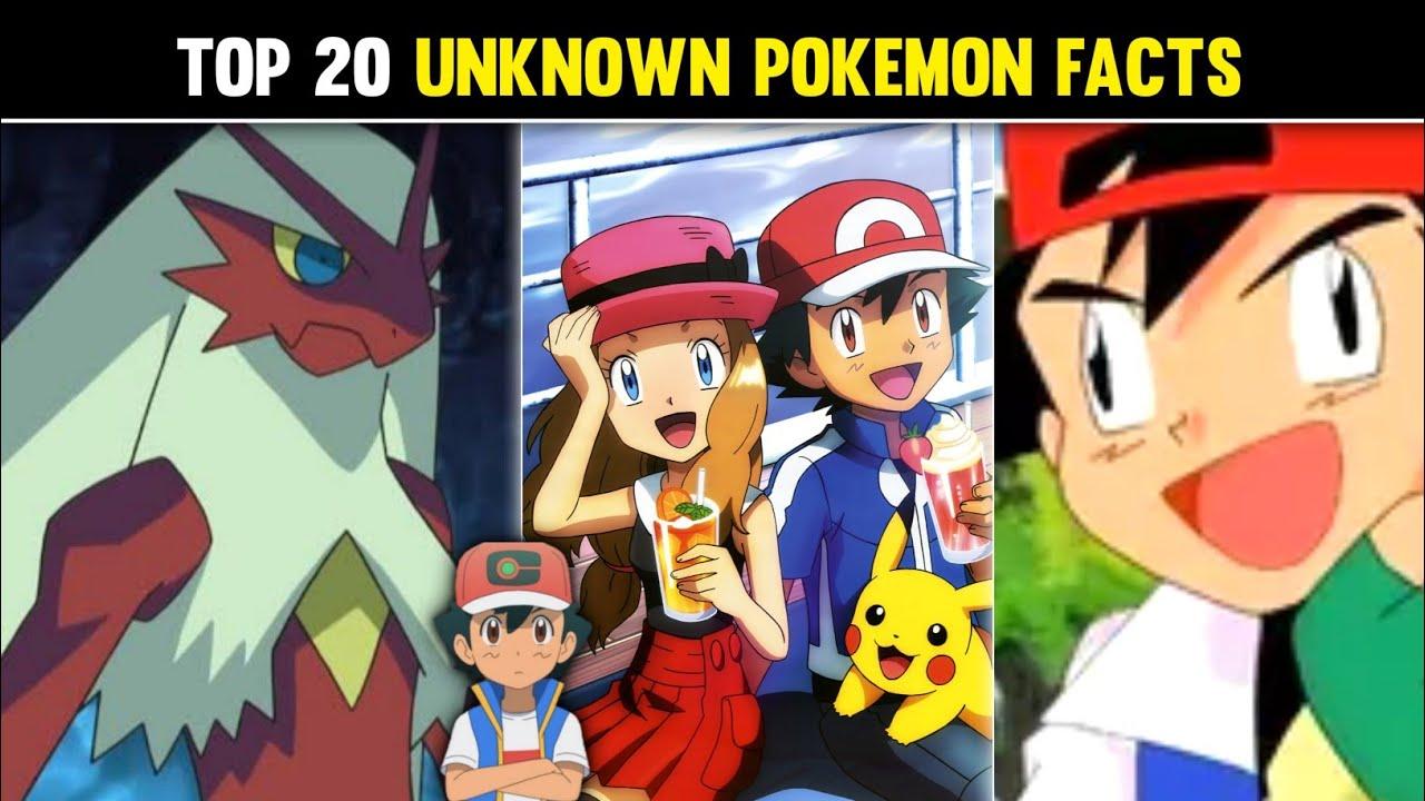 Top 20 Unknown Pokemon Facts 20 Interesting Pokemon Facts 20 Amazing Facts About Pokémon Hindi 
