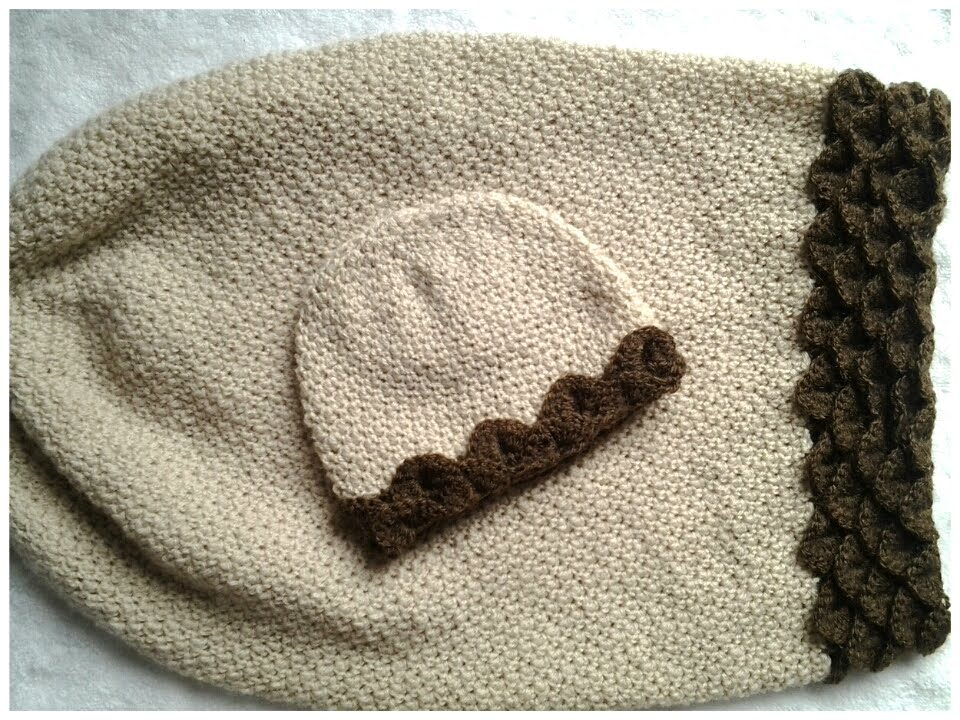 Gorrito recién nacido a crochet # tutorial - YouTube