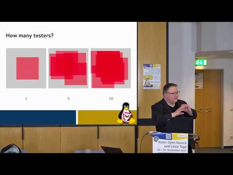 Usability testing in open source software [Kielux 2017]
