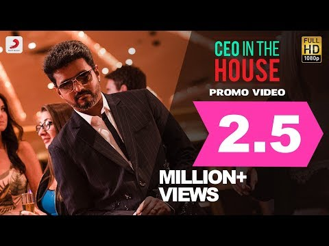 Sarkar - CEO In The House Video Promo | Thalapathy Vijay | A .R. Rahman | A.R Murugadoss