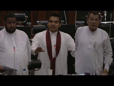 Namal Rajapaksa Vs Port & Shipping Ministers Regarding Hambantota Port Labours Issue