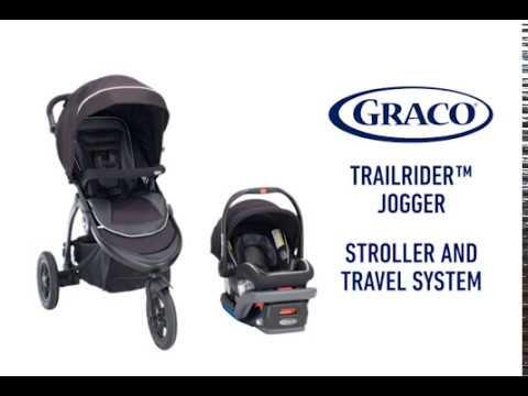 Graco TrailRider Jogging Stroller | Toys R Us Canada - YouTube