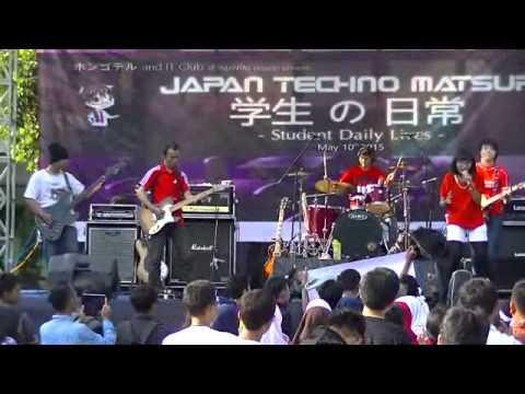 AkaiRo - Netsujou no Spectrum (Ikimonogakari Cover) @Japan Techno Matsuri 2015 SMAN 1 Tambun Selatan