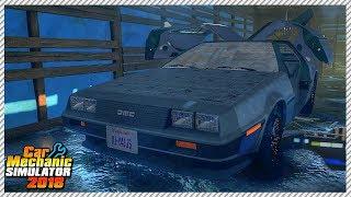 Ultra Rare Abandoned DeLorean DMC - Car Mechanic Simulator 2018 | Ep. 18