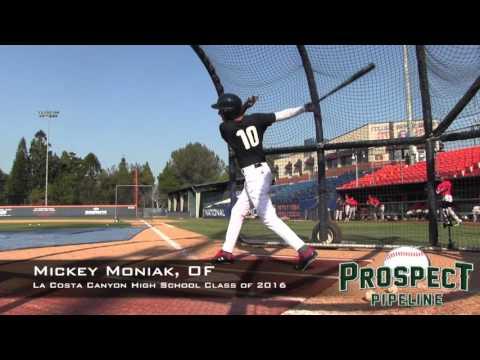 Mickey Moniak Prospect Video, OF, La Costa Canyon High School Class of 2016 @USABaseball