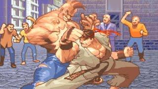 [TAS] Ryu (Hyper Street Fighter 2)