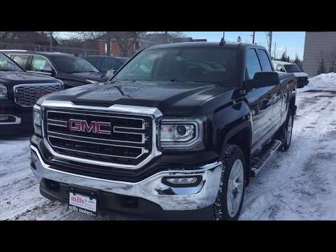 2019 GMC Sierra 1500 Limited 4WD Double Cab SLE Z71 Heated Front Seats Black Oshawa ON Stock #190727
