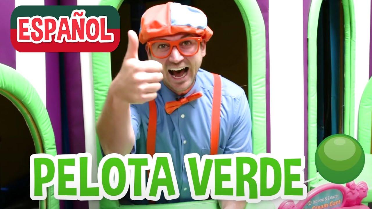 Aprende con Blippi en patio de juegos cubierto de Amy | Videos educativos para niños pequeños