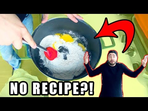 TRYING TO BAKE COOKIES WITHOUT A RECIPE!