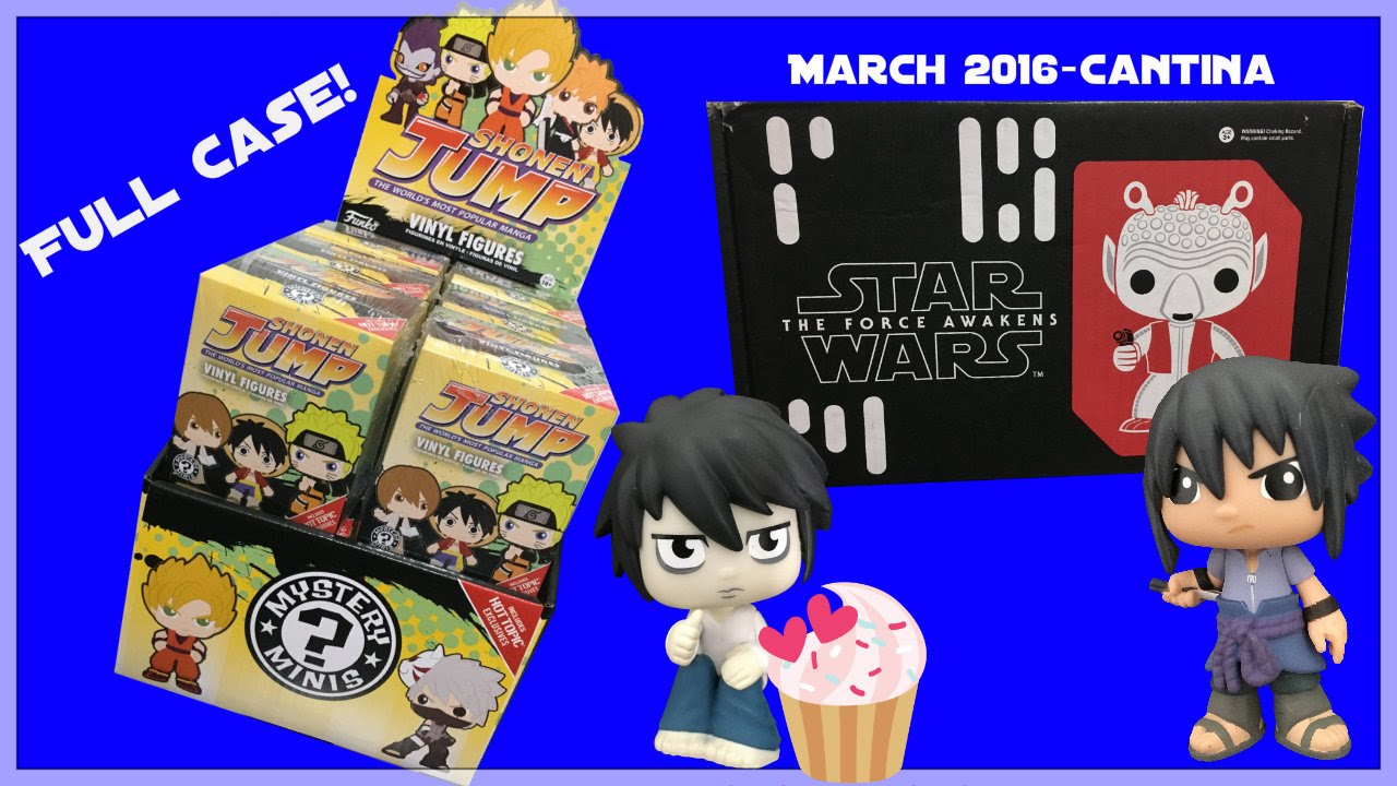 BEST OF ANIME SERIES 2 MYSTERY MINIS - SHONEN JUMP CASE OPENING & STAR WARS SMUGGLERS BOUNTY BOX