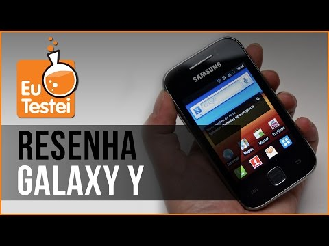 Galaxy Y Young GT-S5360B Samsung Smartphone - Vídeo Resenha EuTestei Brasil