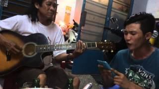 Kho vi yeu nang Guitar cover