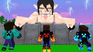 Monster School Herobrine Attack On TiTan +More - Minecraft Animation