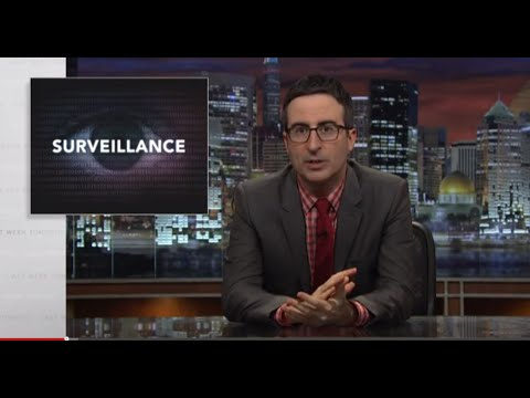 Government Surveillance: Last Week Tonight with John Oliver (HBO)