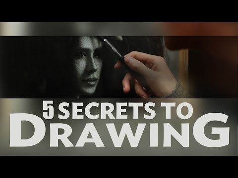 5 SECRETS TO DRAWING - Fundamental Principles and Techniques of Classical Drawing