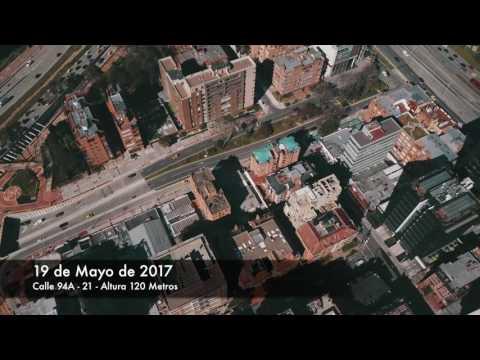 Bogota D.C. - DJI Mavic Pro - 19 Mayo 2017