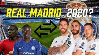 REAL MADRID 2020: Pogba & Kanté halen, Bale, James & Isco Lozen