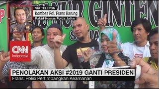 Polisi: Jika Tetap Dilakukan, Kami akan Ambil Sikap | Penolakan Aksi #2019GantiPresiden thumbnail
