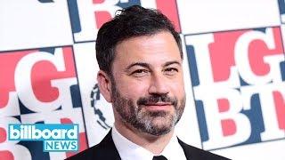 Jimmy Kimmel Responds After Reaction to Fergie's National Anthem Goes Viral | Billboard News