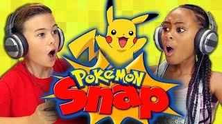 POKÉMON SNAP (Kids React: Retro Gaming)