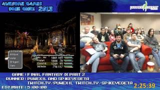 AGDQ 2013 - Final Fantasy IX Speedrun, Part 2 (Discs 3&4)